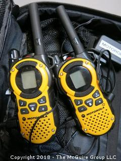 Motorola 2 way talk about radios