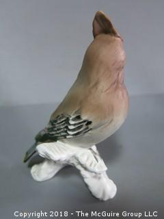 Porcelain Bird by Goebel; W. Germany