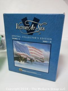 """VCR Set of """"Victory at Sea"""""""