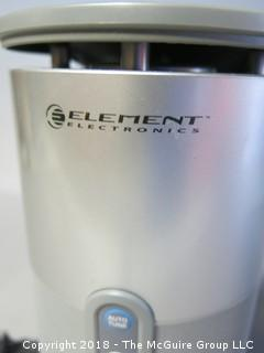 (2) 900MHz Wireless Speakers (EWOS 1); made by Element Electronics