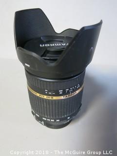 TAMRON Lens; 18-270mm 1:3.5 - 6.3