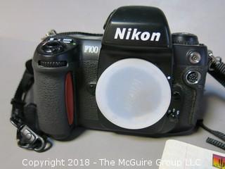 Nikon F100 Camera - body only