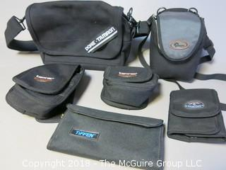 Assortment of Camera Bags