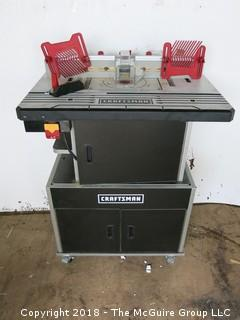 Craftsman Professional Router Table and Cabinet