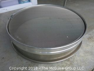 "Commercial Sifter; 15"" diameter"