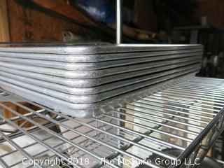 Commercial half size baking pans