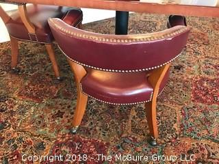 (20) St. Timothy Club Chairs - 20 arm   {IF YOU DESIRE ALL 80 CHAIRS, BID IN LOT 5.  IF THE PRICE PER PIECE IS GREATER THAN LOTS 1-4, THE HIGH BIDDER IN LOT 5 WILL TAKE ALL}