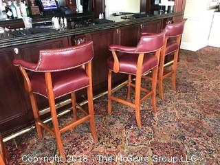 (80) St. Timothy Club Chairs - 2 bar (photos shows 3); 78 arm   IF YOU DESIRE ALL 80 CHAIRS, BID IN LOT 5.  IF THE PRICE PER PIECE IS GREATER THAN LOTS 1-4, THE HIGH BIDDER IN LOT 5 WILL TAKE ALL