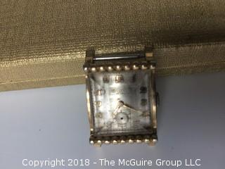 Group of 8 Watches Including Lord Elgin, Bucherer, Gruen, Faux Cartier, Bulova