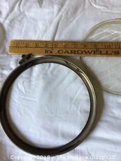 Riteway Corcoran-Brown Head Lamp Lens and Ford Headlight Lens and Rim