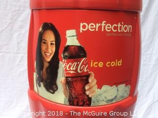 3.5-Foot Tall Plastic Coke Can Advertising