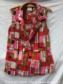 Dolce & Gabbana Women's Multi-colored Block Shirt Size 30/44