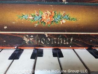Vintage Working Schoenhut Piano