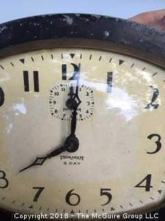 Vintage Ingraham 8-Day Clock