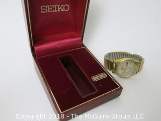 Seiko 23 Jewel Men's Watch; with box