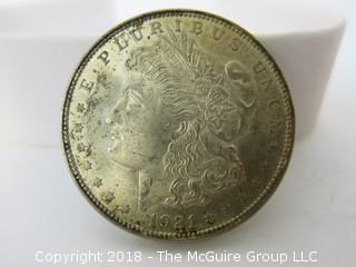 1921 $1 Morgan Silver Dollar
