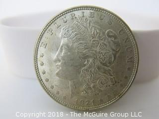 1921 $1 U.S. Morgan Silver Dollar