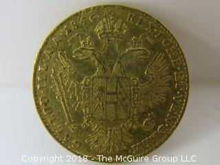 1846 Gold Coin from Czeckoslovakia