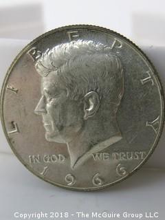 1966 Kennedy Silver Half Dollar