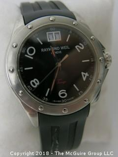"Raymond Weil Men's Watch; ""Tango""; Swiss Made; Sapphire Crystal; WR. 5ATM"