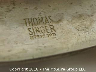 Thomas Singer Silversmith Cuff Sterling Bracelet; total weight 48g