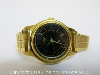 Gold Toned Citizen Quartz Watch