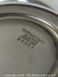 """Tiffany and Co. Sterling Cup marked """"GCC -1963""""); 46g"""