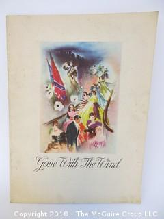 "Theatre Booklet: ""Gone With The Wind"""