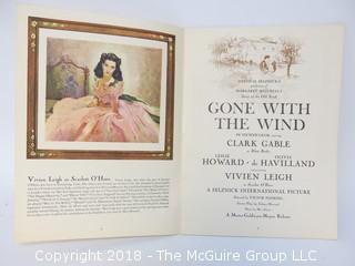"""Theatre Booklet: """"Gone With The Wind"""""""