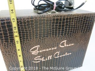 Suitcase Converted into Amplifier
