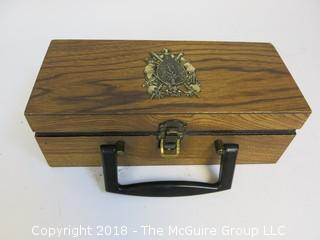 Small Wooden Box Ready to be Converted to Your Dream Product