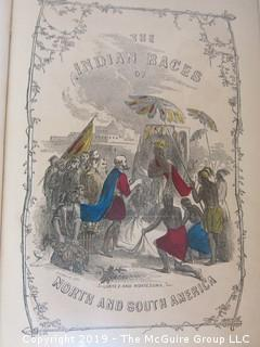 "Book Title: ""Indian Races of North and South America"" by Charles de Wolf Brownell; 1864"