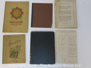 Old Paper: Collection of family notebooks, etc.