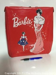 Vintage 1960's Barbie collection of dolls, clothes and case