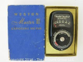 Weston Master II Light Meter