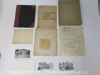 Early Glencarlyn (Arlington County) Ephemera; beginning in 1908