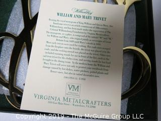 Pair of NIB Virginia Metalcrafter's Trivets