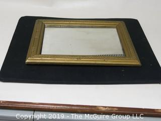 Wall Mirror in frame; 13 x 18""