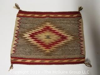 """Navajo Single Riding Blanket; 24 x 24"""""""