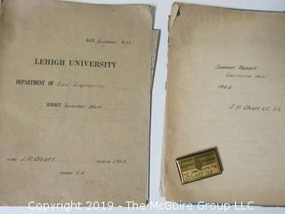 Lehigh University collectibles of the 1920's