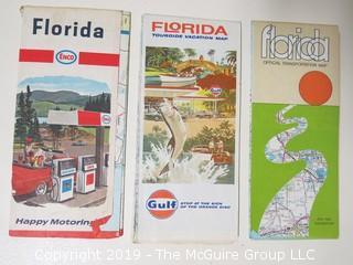 3 M-C Travel Maps of Florida