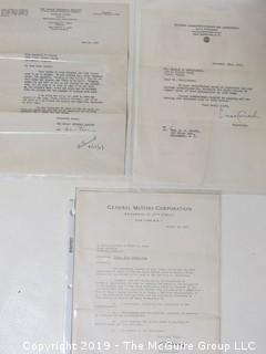 Collection of Ephemera including The Girls Friendly Society; GM and RCA