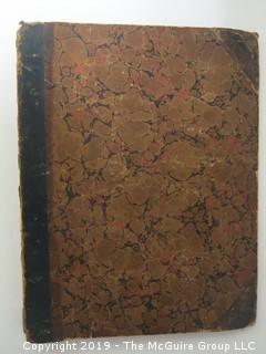 1920 ledger of Mr. G Olcott; with personal travel log for years 1919-1920
