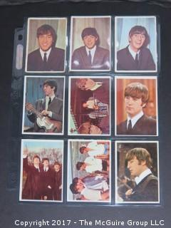 1964 Topps Beatles Black and White and Color Series Trading Cards