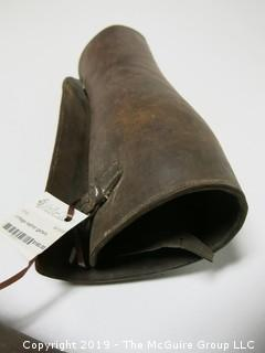 Pair of Leather Gaiters
