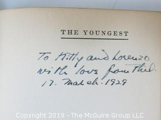 "(8) Books of Plays Written by Philip Barry; best known for ""The Philadelphia Story"", adapted to the silver screen starring Katharine Hepburn, Cary Grant and Jimmy Stewart; all inscribed to his parents.  (52 photos) {Description altered Feb 21 @ 12:05pm ET}"