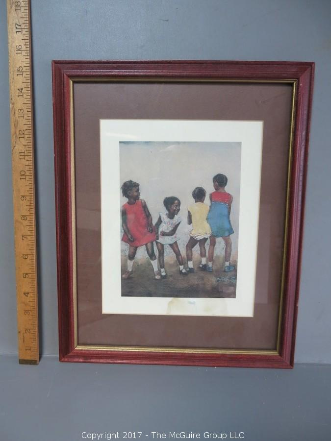 New On-Line Auction Posted: Featuring Fine Art, Black Memorabilia and Scientific Library