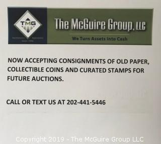 Accepting Consignments for Upcoming Auctions...