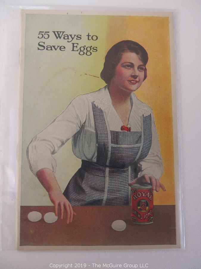 Collection of Food Brand Promotional Pamphlets and Recipe Books; 1882-1975