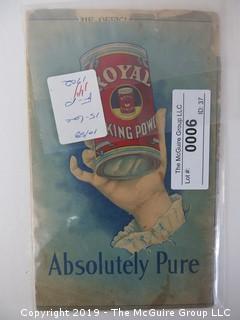 1902; Royal Baking Powder Co.